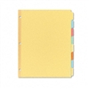 Avery Recycled Plain Dividers w/Eight Multicolor Tabs,