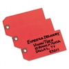 Avery Unstrung Shipping Tag, Paper, 4 3/4 x 2 3/8, Red,
