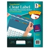 Avery Index Maker Divider, Multicolor Five-Tab, Letter,