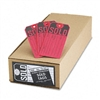"Avery ""Sold"" Tags, Paper, 4 3/4 x 2 3/8, Red, 500/Box #"