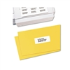 Avery Address Labels, 1 x 2-5/8, White, 7500/Box # AVE4