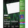 Avery EcoFriendly Labels, 1/2 x 1 3/4, White, 8000/Pack