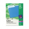 Avery Self-Adhesive Filing Labels, 1/3 Cut, 3-7/16 x 2/