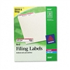 Avery Self-Adhesive Laser/Inkjet File Folder Labels, Wh