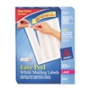 Avery Easy Peel Laser Address Labels, 1/2 x 1-3/4, Whit