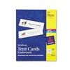 Avery Tent Cards, White, 2-1/2 x 8-1/2, 2 Cards/Sheet,