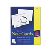 Avery Printer Compatible Cards, 4-1/4 x 5-1/2, 2/Sheet,