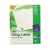Avery Permanent Self-Adhesive Laser/Inkjet File Folder