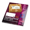 Avery White Weatherproof Laser Shipping Labels, 2 x 4,