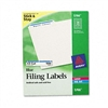Avery Self-Adhesive Laser/Inkjet File Folder Labels, Bl