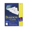 Avery Laser Business Cards, 2 x 3 1/2, White, 10 Cards/