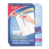 Avery Easy Peel Laser Address Labels, 1 x 2-5/8, White,