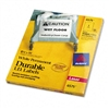 Avery Permanent ID Laser Labels, 8-1/2 x 11, White, 50/