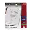Avery TOPLoad Poly Sheet Protectors, Economy Gauge, Let