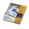 Avery Special-Use Snap-In Sheet Protectors, Letter, Dia