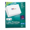 Avery Inkjet Labels for Color Printing, 1 x 2-5/8, Matt