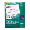 Avery Inkjet Labels for Color Printing, 8-1/2 x 11, Mat