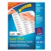Avery Easy Peel Inkjet Address Labels, 1 x 2-5/8, White