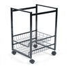 Advantus Mobile File Cart w/Sliding Baskets, 15 x 12-7/