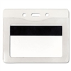 Advantus Security ID Badge Holder, Horizontal, 50/Box #