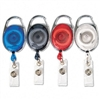 Advantus Carabiner-Style Retractable ID Card Reel, 30,
