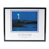 "Advantus ""Vision Lighthouse Framed Motivational Print,"