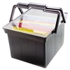Advantus Companion Portable File, Legal/Letter, Plastic