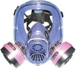 RESPIRATOR FULL FACE MEDIUM FOR MOLD REMOVAL AX88A