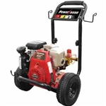 BE Pressure B-Frame 2700 PSI Pressure Washer 5hp Honda GC160 (Gas-Cold Water) Engine B275HAS