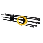 IPC Eagle Ultra Pure Window Cleaning Quick Lock Carbon Fiber Sectional Poles 33 Package BD500535-QL