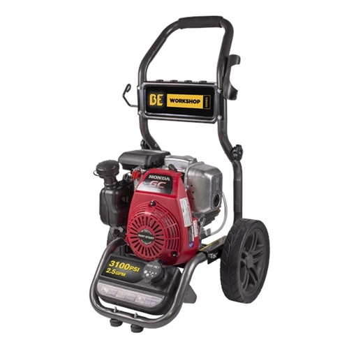 BE Pressure Washer BE316HAS 3100 PSI, 2 5 GPM, Honda Gas Engine