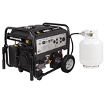 BE 9400 Watt Generator Duel Fuel 459cc Powerease with Gas and Propane