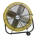 "Ventamatic MaxxAir Portable Air Circulator 24"" Direct Drive Tilt Fan - 2 Spd # BF24TFYEL"