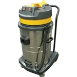 Perfect Products 18 Gal. Stainless Steel 2 Stage Bypass Wet/Dry Vacuum with 5 Pc. Tool Kit