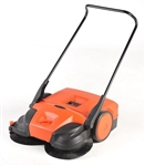 "Bissell 31"" Deluxe Triple Brush Push Manual Sweeper, BG-477"