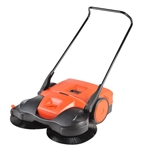 "Bissell 38"" Deluxe Triple Brush Push Manual Sweeper, BG-497"