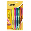BIC Brite Liner Highlighter, Chisel Tip, Fluorescent BE