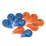 BIC Wite-Out Correction tape, Non-Refillable, 1/6 x 39