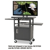 BALT Height-Adjustable Flat Panel TV Cart, 4-Shelf, 270