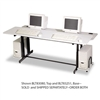 BALT Split-Level Computer Training Table, 72w x 36d x 3
