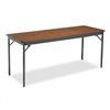 Barricks Special Size Folding Table, Rectangular, 72w x