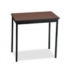 Barricks Utility Table w/Steel Legs, Rectangular, 30w x
