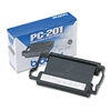 Brother PC201 Thermal Ribbon Cartridge, Black # BRTPC20