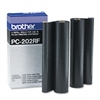 Brother PC202RF Thermal Transfer Refill Roll, Black, 2/