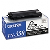 Brother TN350 Toner, 2500 Page-Yield, Black # BRTTN350