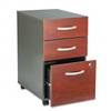 Bush Series C 3-Drwr Mobile Ped File, 15-3/4w x20-3/8d,