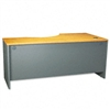 Bush Series C Left Corner Desk Module, 71w x 35-1/2d, N