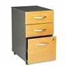 Bush Series C 3-Drawer Mobile Pedestal File, 28-1/8h, G