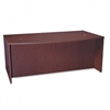 basyx BL Laminate Series Bow Front Desk Shell, 72w x 42