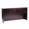 basyx Laminate Hutch w/Four Doors, 72w x 14-5/8d x 37-1
